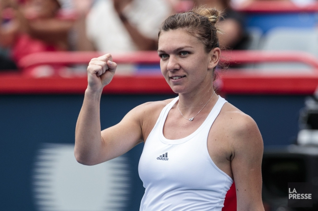 Simona Halep... (PHOTO HUGO-SÉBASTIEN AUBERT, LA PRESSE)