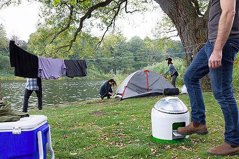 Que ce soit pour le camping ou le chalet, cette prochaine invention audacieuse... (Drumi)