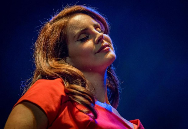 Lana Del Rey est la tête d'affiche de... (photo Christopher Polk, archives agence france-presse)