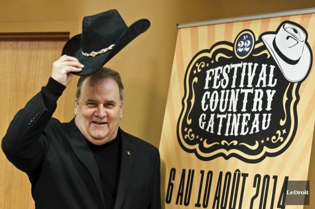 Le président du Festival country du Grand Gatineau,... (Patrick Woodbury, LeDroit)