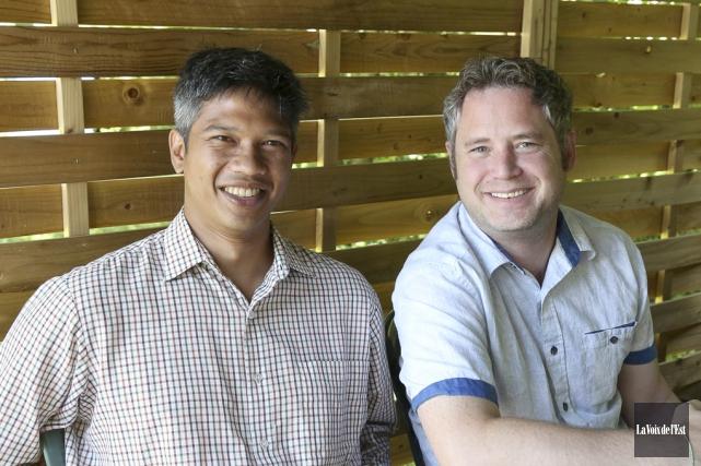 Ramen Dutta et Alastair Monk disent très bien... (Julie Catudal, La Voix de l'Est)