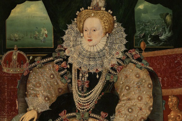 LePortrait de l'Armadaappartenait aux héritiers de Francis Drake.... (AP)