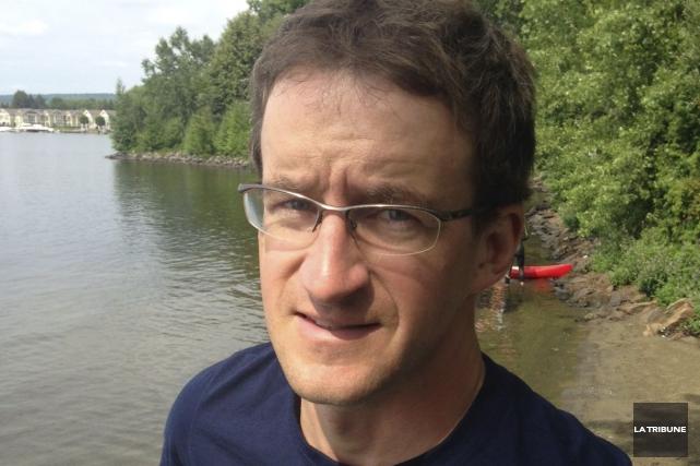 Daniel Soucy, entraîneur duClub de triathlon Memphrémagog (CTM)... (La Tribune, Jean-Guy Rancourt)