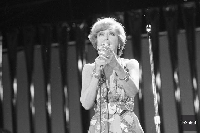 Lucille Dumont en 1975... (Photothèque Le Soleil)