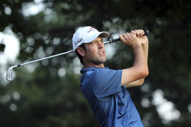 Robert Streb a égalé le record du Balsturol Golf... (Seth Wenig, Associated Press)