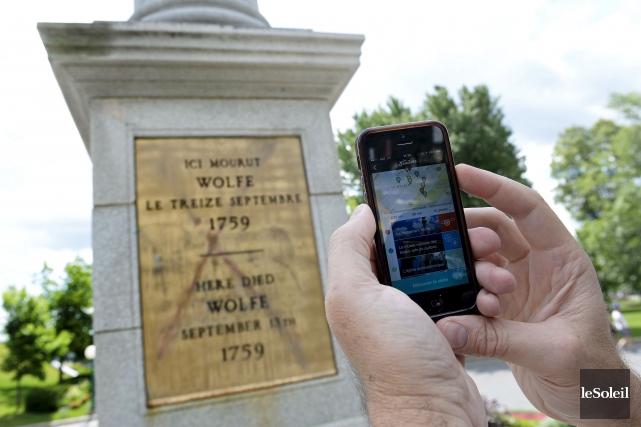 Le nouveau parcours touristique mobile attirera autant ceux... (Le Soleil, Yan Doublet)