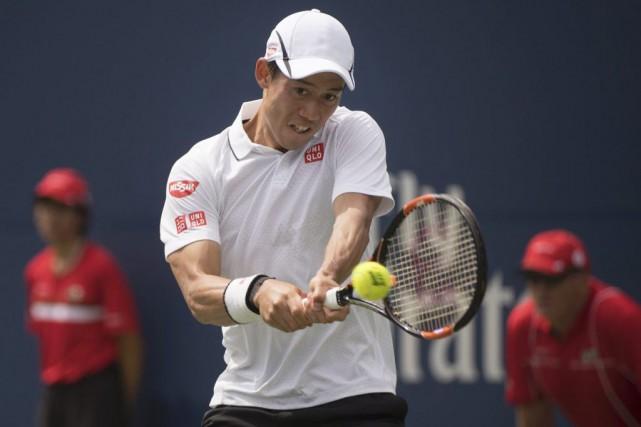 Kei Nishikori... (AFP)