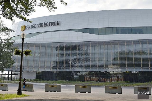 Le Centre Vidéotron... (Photothèque Le Soleil, Pascal Ratthé)
