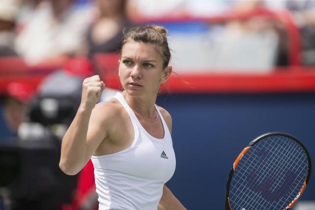 La Roumaine Simona Halep s'est qualifiée pour la... (AFP)