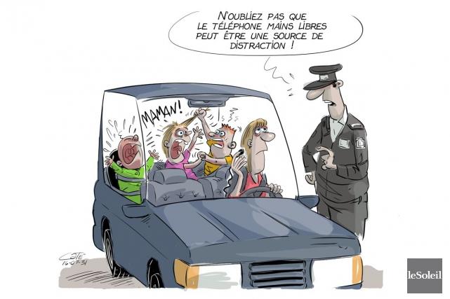 Caricature du 31 juillet... (Le Soleil, André-Philippe Côté)