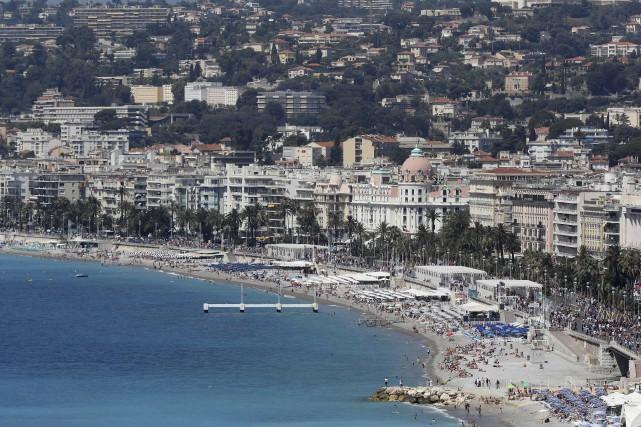 La promenade des Anglais, à Nice.... (PHOTO ARCHIVES AFP)