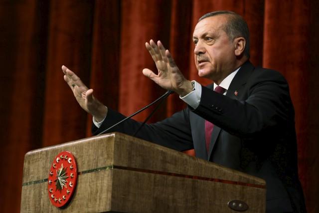 Alors que des responsables européens ont critiqué l'ampleur... (AP, Kayhan Ozer)