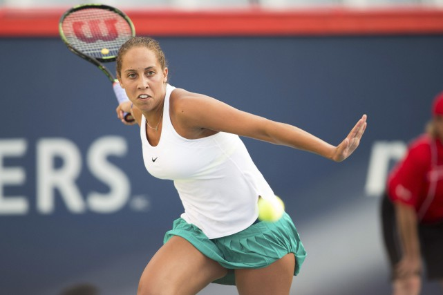 Madison Keys, 12e joueuse mondiale... (AFP, Geoff Robins)