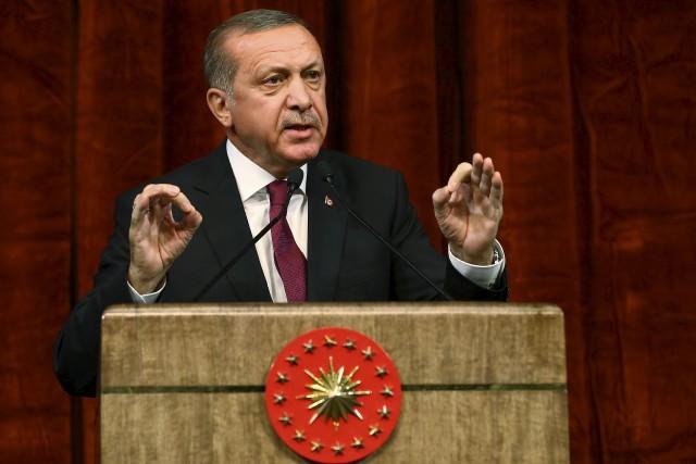 Le président turc, Recep Tayyip Erdogan, a soutenu... (AP, Kayhan Ozer)