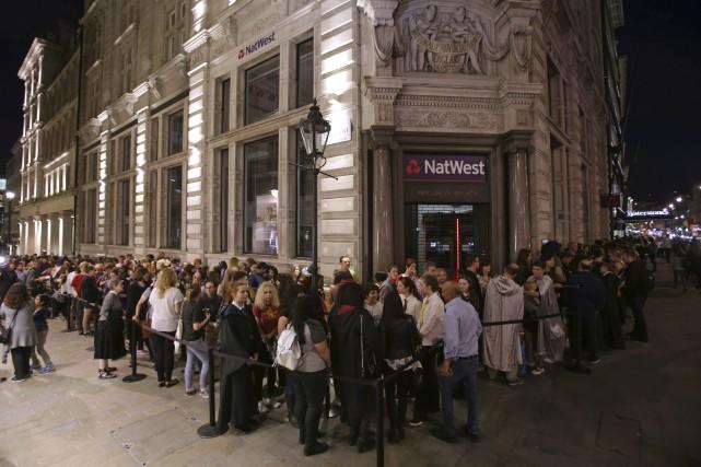 La popularité du phénomène Harry Potter ne se... (AFP, Daniel Leal-Olivas)