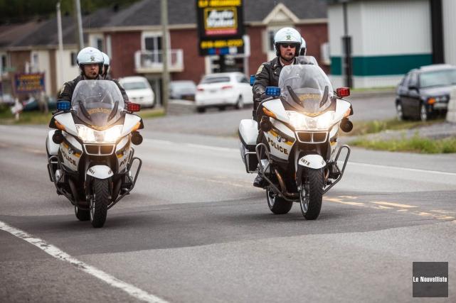 Depuis le début de l'été, un nombre inquiétant de motocyclistes ont été... (Photo Olivier Croteau, archives Le Nouvelliste)