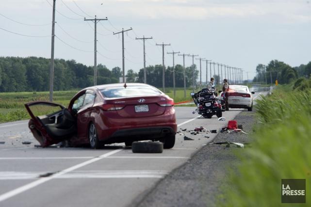 La Sûreté du Québec rappelle aux motocyclistes quelques... (Stéphane Lessard)