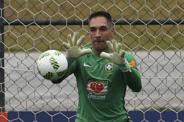 Fernando Prass... (AFP)