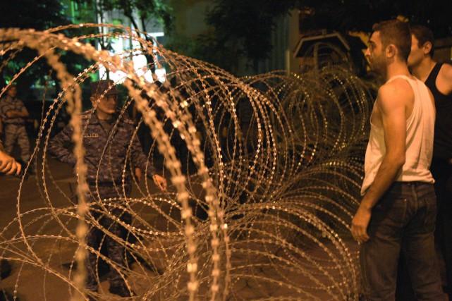 Alors que cette crise semblait s'enliser, la tension... (AFP)