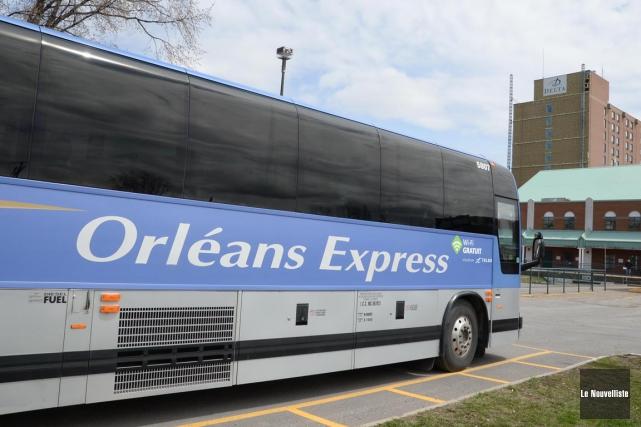 Orléans Express... (Sylvain Mayer, Le Nouvelliste)