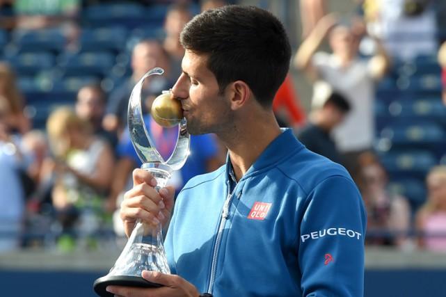 Il s'agit pour Djokovic d'un quatrième titre à... (PHOTO AFP)