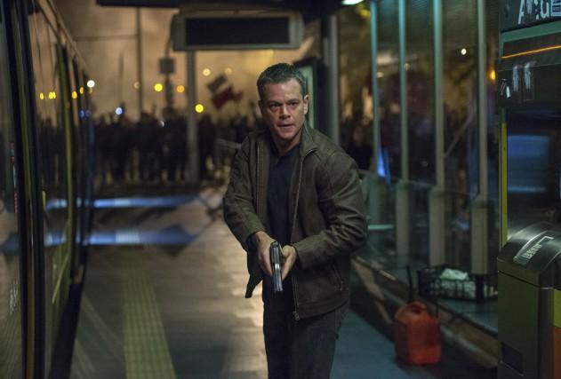 Matt Damon dans la peau de Jason Bourne... (AP)