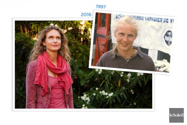 Magalie Bonneau vit depuis 11ans en Californie, où... (Infographie Le Soleil)