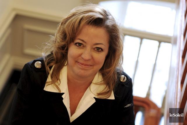 Sylvie Roy, photographiée à l'Assemblée nationale en octobre... (Photothèque Le Soleil, Erick Labbé)