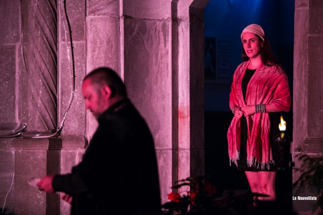 Le Théâtre Expresso présente la pièceL'Évangile selon Pilate.... (Olivier Croteau, Le Nouvelliste)