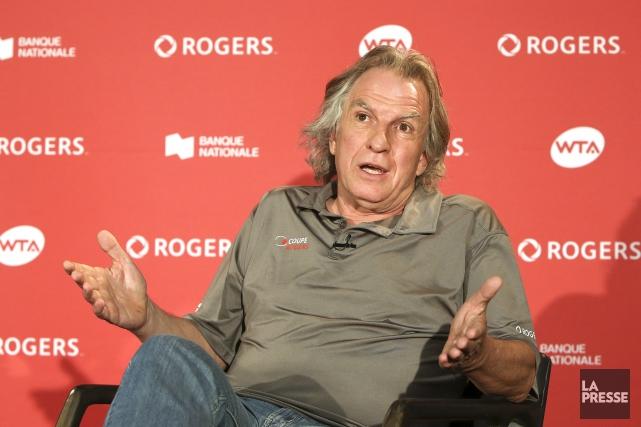 Le directeur de la Coupe Rogers Eugène Lapierre... (La Presse, Robert Skinner)