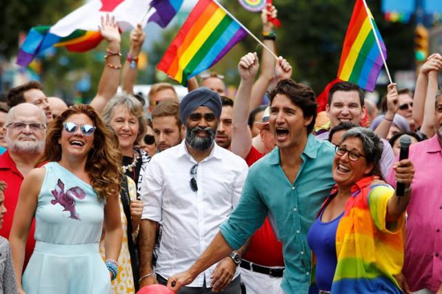 Aucun premier ministre du Canada en exercice n'avait... (PHOTO REUTERS)