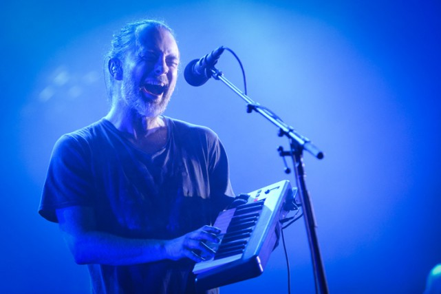 Thom Yorke... (PHOTO CATHERINE LEFEBVRE, COLLABORATION SPÉCIALE)