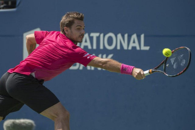 Stan Wawrinka... (Photo Nick Turchiaro, USA Today Sports)