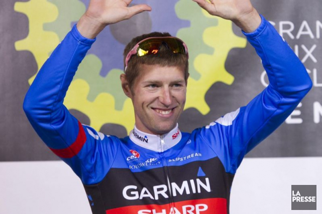 Ryder Hesjedal... (Photo Hugo-Sébastien Aubert, archives La Presse)