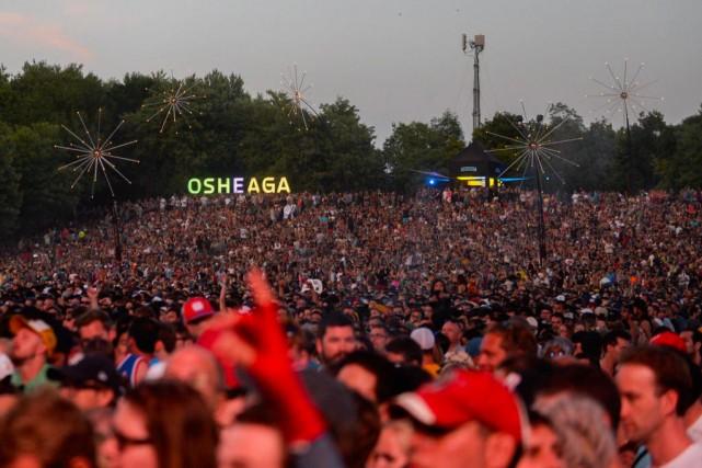 Osheaga a de nouveau accueilli45000 festivaliers par jour.... (PHOTO CATHERINE LEFEBVRE, COLLABORATION SPéCIALE)