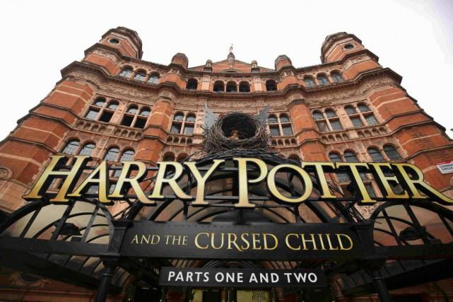 Le Palace Theatre de Londres, où est présentée... (photoNeil Hall, reuters)