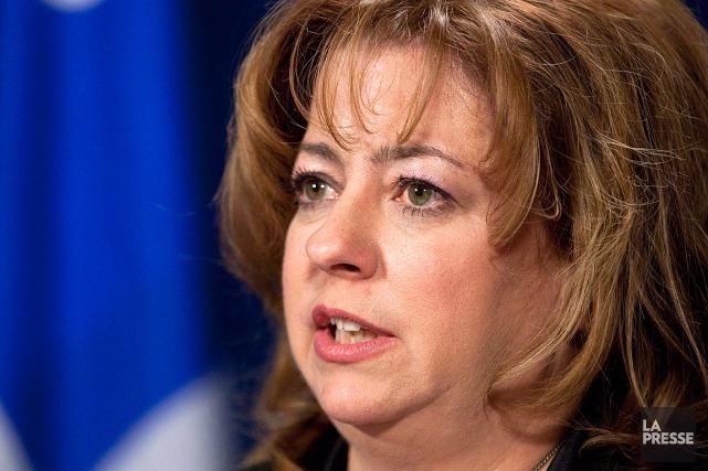 Sylvie Roy, photographiée en avril 2012.... (Archives PC, Jacques Boissinot)