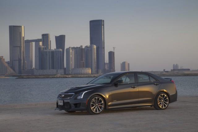 Avec l'ATS-V, Cadillac veut jouer du coude avec... (Photo : GM)