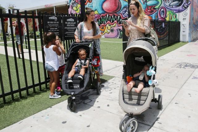 Le quartier de Wynwood à Miami est dorénavant... (AP)