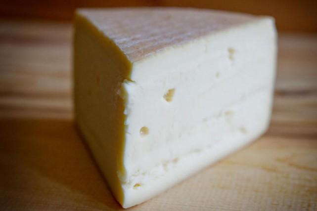 Le Mont-Jacob, fromage québécois désormais vendu à Dubaï.... (Photo Marco Campanozzi, La Presse)