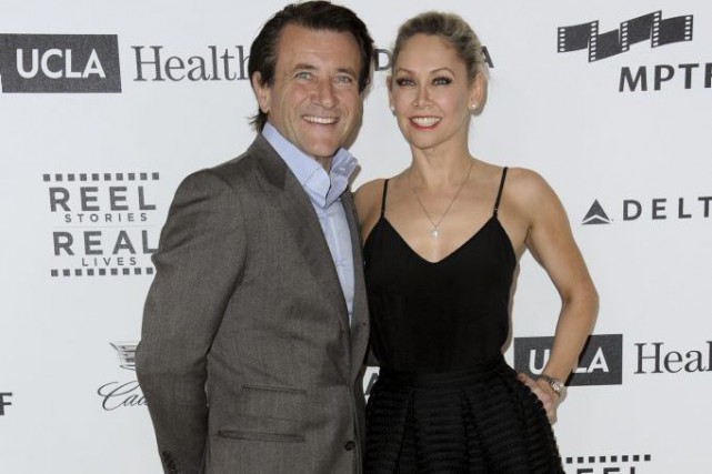 Robert Herjavec et Kym Johnson... (PHOTO ARCHIVES AP)