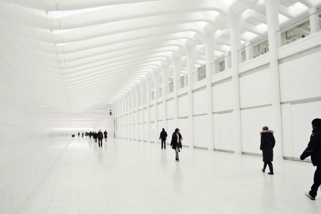 Ne manquez pas d'arpenter les couloirs d'un blanc... (Photo Vincent Fortier, collaboration spéciale)