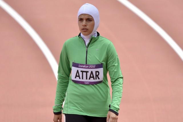 Sarah al-Attar avait pris part aux séries du... (ARCHIVES AP)