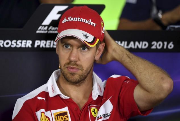 Malgré les insuccès chez Ferrari, Sebastian Vettel reste... (AFP, Patrik Stollarz)