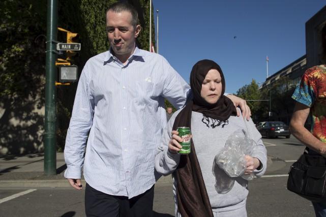 John Nuttall et Amanda Korod... (La Presse Canadienne, Darryl Dyck)