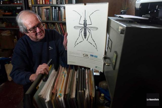 Jacques Boisvert est microbiologiste, spécialiste des insectes piqueurs... (François Gervais, Le Nouvelliste)