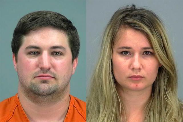 Brent et BriannaDaley ont été accusés de négligence... (PHOTO AP)
