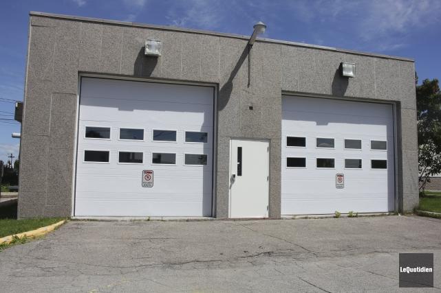 La caserne des pompiers de Saint-Prime, qui est... (Photo Le Quotidien, Isabelle Tremblay)