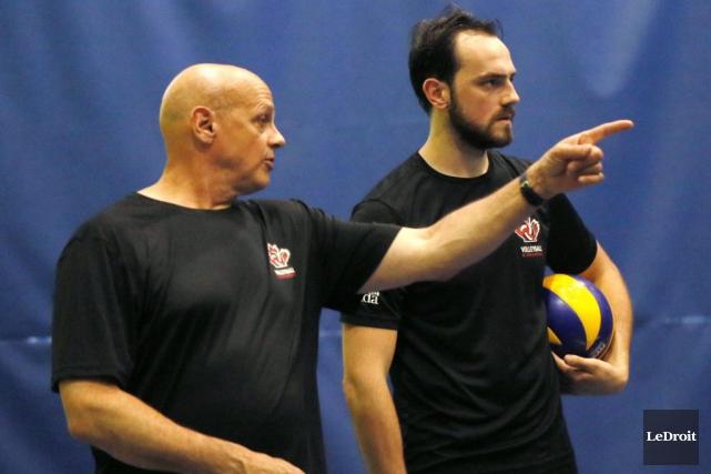 Glenn Hoag dirigera la formation canadienne, dont fait... (Simon Séguin-Bertrand, LeDroit)