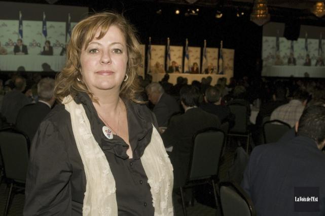 La députée Sylvie Roy est décédée à l'âge... (archives La Voix de l'Est)